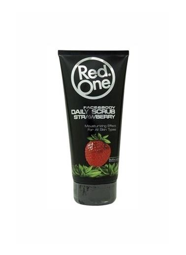 RedOne Çilek Aromalı Yüz ve Vücut Peelingi 170 ml Renksiz